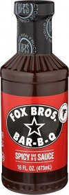 Fox Bros. Spicy BBQ Sauce, 16 oz