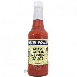 Cajun Power Spicy Garlic Pepper Sauce, 10oz