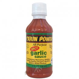 Cajun Power Spicy Garlic Sauce, 8oz