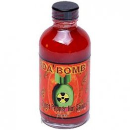 Da Bomb Ghost Pepper Hot Sauce, 4oz