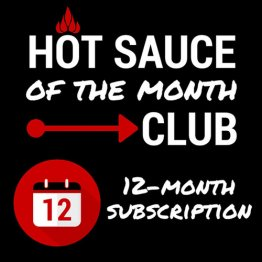 Sauce of the Month Club- 1 year