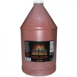Irazu Volcanic Pepper Sauce- Ghost Pepper Extreme 70, 1 Gallon