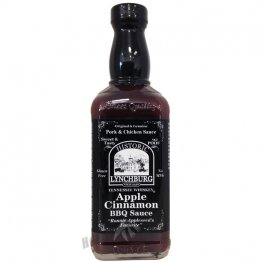 Lynchburg Tennessee Whiskey Apple Cinnamon BBQ Sauce, 16oz