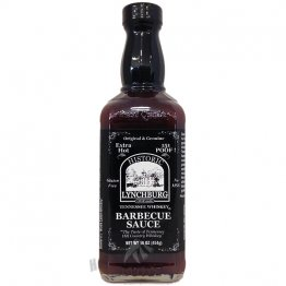 Lynchburg Tennessee Whiskey BBQ Sauce- Extra Hot (151 Poof), 16oz