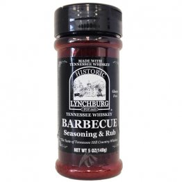 Lynchburg Tennessee Whiskey BBQ Seasoning & Rub, 5oz
