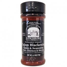Lynchburg Tennessee Whiskey Cajun Blackening Spice & Seasoning, 4.2oz