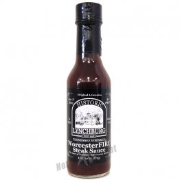 Lynchburg Tennessee Whiskey WorcesterFire Steak Sauce, 6oz