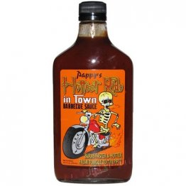 Pappy's Hottest Ride in Town BBQ Sauce, 12.7oz