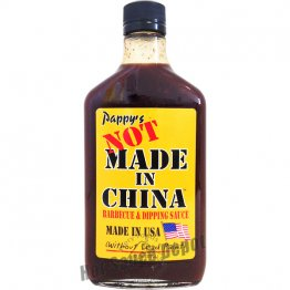 Pappy's Not Made in China BBQ Sauce, 12.7oz