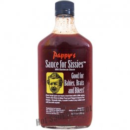 Pappy's Sauce for Sissies BBQ Sauce, 12.7oz