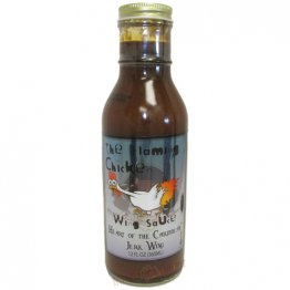 The Flaming Chicken Heart of the Caribbean Jerk Wing Sauce, 12oz