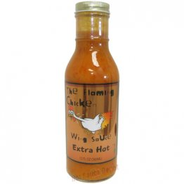 The Flaming Chicken Extra Hot Wing Sauce- 12oz