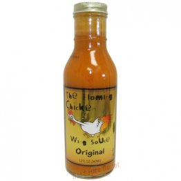 The Flaming Chicken Original Wing Sauce, 12oz