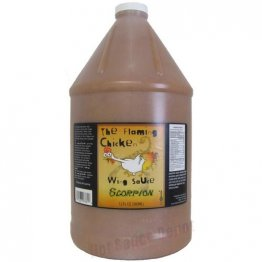 The Flaming Chicken Scorpion Fire Wing Sauce, 1 gallon