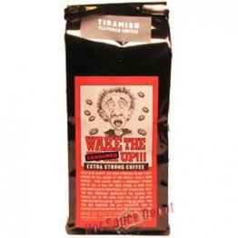 Wake the F*@k Up!!! Tiramisu Extra Strong Coffee, 16oz