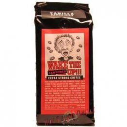 Wake the F*@k Up!!! Vanilla Extra Strong Coffee, 16oz
