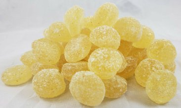 Orange Ghost Chili Hot Hard Candy Drops 4.5 oz