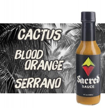 Sacred Sauce - Cactus, Blood Orange, Serrano
