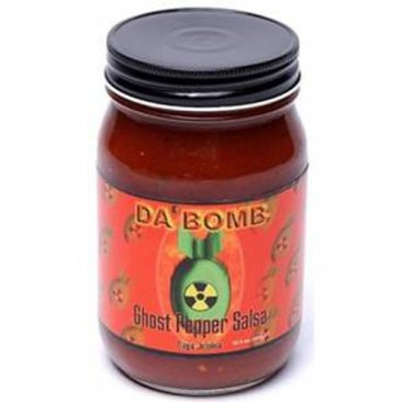 Da Bomb Ghost Pepper Salsa, 15.5oz