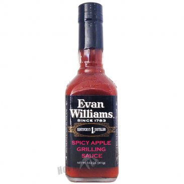 Evan Williams Spicy Apple BBQ Sauce, 15oz
