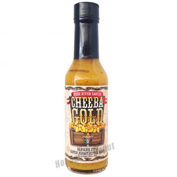 High River Sauces Cheeba Gold, 5oz