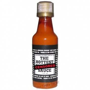 The Hottest F*@king Hot Sauce, Mini (1.5oz)