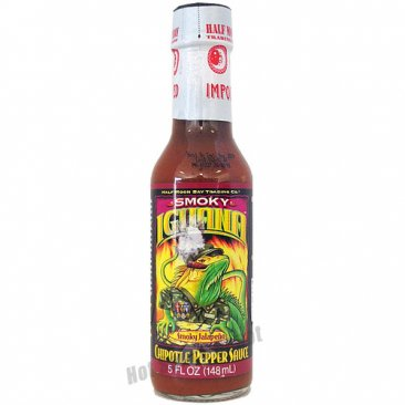 Iguana Smoky Chipotle Pepper Sauce, 5oz