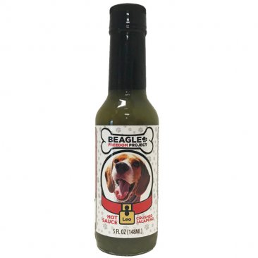 BFP Crushed Jalapeno Hot Sauce- Leo, 5oz