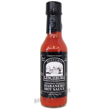 Lynchburg Tennessee Whiskey Habanero Hot Sauce, 6oz