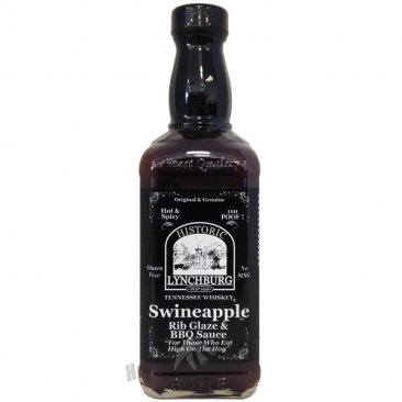 Lynchburg Tennessee Whiskey Swineapple Rib Glaze- Hot, 16oz