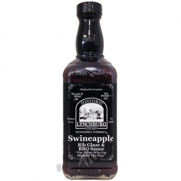 Lynchburg Tennessee Whiskey Swineapple Rib Glaze-Mild, 16oz
