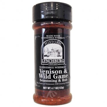Lynchburg Tennessee Whiskey Venison & Wild Game Seasoning, 4.2oz