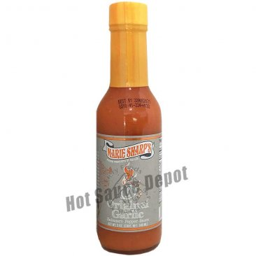 Marie Sharp's Habanero Garlic Hot Sauce, 5oz
