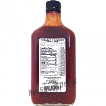 Pappy's Fighting Cock BBQ Sauce, 12.7oz