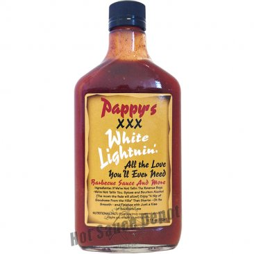 Pappy's XXX White Lightnin' BBQ Sauce, 12.7oz