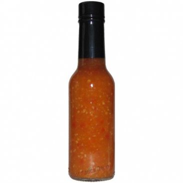 Case of Private Label Habanero Garlic Crushed Pepper Sauce, 12 x 5oz