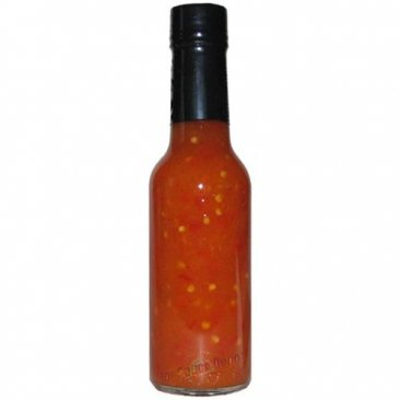 Case of Private Label Habanero XXX Crushed Pepper Sauce, 12 x 5oz