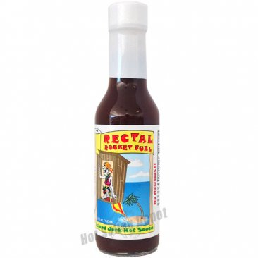Rectal Rocket Fuel Hot Sauce, 5oz