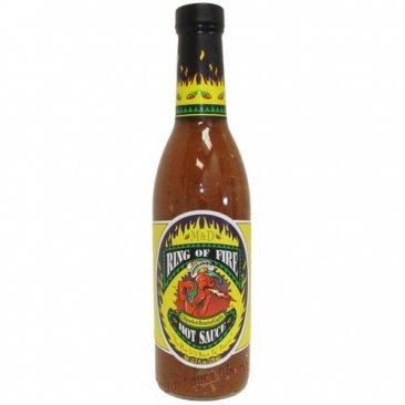 Ring of Fire Chipotle & Roasted Garlic Hot Sauce, 12.5oz