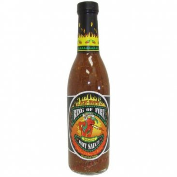 Ring of Fire XX Hot Habanero Hot Sauce, 12.5oz