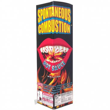 Spontaneous Combustion Hot Sauce, 5oz