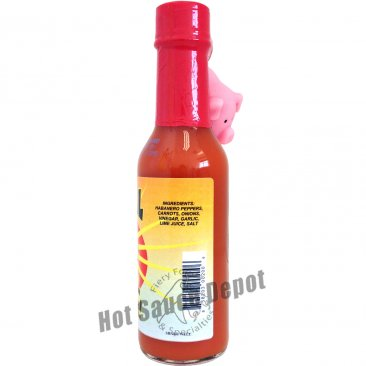 Squeal Like A Pig Hot Sauce W/Naughty Pig Key Chain, 5oz