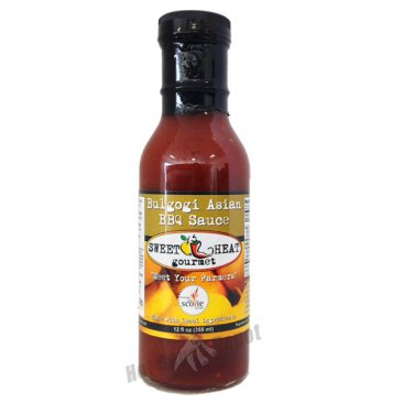 Sweet Heat Bulgogi Asian BBQ Sauce, 12oz