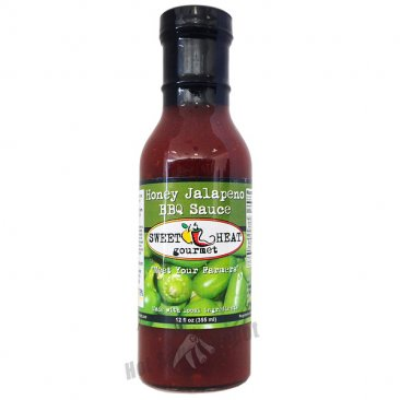 Sweet Heat Honey Jalapeno BBQ Sauce, 12oz