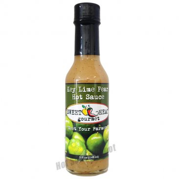 Sweet Heat Key Lime Pear Hot Sauce, 5oz