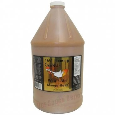 The Flaming Chicken Mango Heat™ Wing Sauce, 1 Gallon